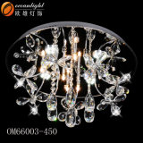Modern Cheap Crystal Ceiling U Shape Decorative Ceiling Lamps Om66008