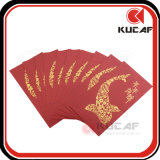 Hot Stamping Printing Customized Lucky Paper Packet