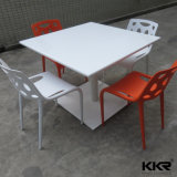Vein Pattern Solid Surface Artificial Stone Dining Tables