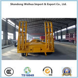 3 Axles Heavy Duty Lowbed Semi Trailer From China Supplier