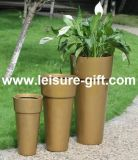 Fo-318 Tall Fiberglass Plant Pot with New Design