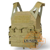 Plate Carrier of 1000d Nylon with ISO Standard for Tactical Combat Hunting Outdoor