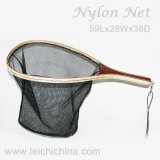 Wooden Handle Fishing Landing Nets