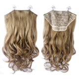 Wholesale Price Fashion Synthetic Half Wig Style Clip in Hair Extension