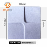 Square Surface Home Decor Polyester Fiber 3D Acoustic Panel Product