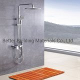 Rain Shower with Spray Gun Bathroom Sanitary Ware Instant Hot Cold Water Shower Set