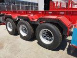 Luen 3axle Container Skeleton Truck Tractor Semi Trailer