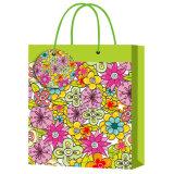 Cheap Hand Make Handle Paper Packaging Bags Flower Bag Fashion Bag