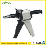 Dental Impression Mixing Silicon Rubber Dispenser Gun 1: 1 /1: 2 50ml