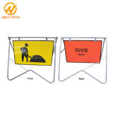 Traffic Road Arrow Sign Plastic Traffic Sign Swing Stand Sign Traffic Safety Sign