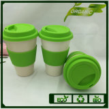 Eco Bio Cheap Safe Bamboo Fiber Coffee Cup with Lids