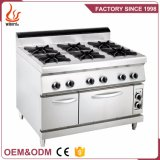 Gas Cooking Range with 4-Burner & Gas/Electric Oven