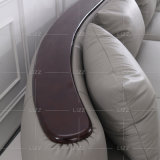 Modern Living Room Leather Chaise Lounge Sofa