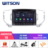 Witson Quad-Core Android 10 Car DVD GPS for KIA Sportage 2016 Built-in DVR Function