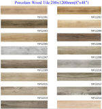 Rustic Matt Wood Porcelain Ceramic Tile for Floor Building Material