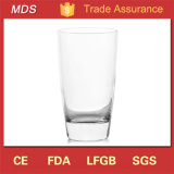 Round Cheap Water Glass Cup with Square Bottom