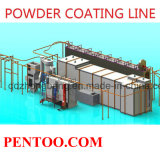 Hot Sell Customize Powder Coating Line for Aluminium Prof
