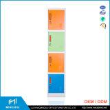 Luoyang Mingxiu Different Colours 4 Door School Metal Cloth Cabinets