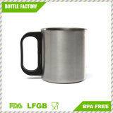 Coffee Tea Tumbler Camping Mugs Double Wall Bilayer Stainless Steel Cup for Traveling for Both Hot and Cold Beverages