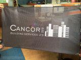 Custom High Quality Mesh Fabric Heat Transfer Advertising Flag Banner