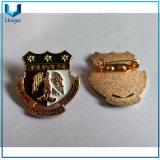 Custom Police Badges, Cheap Custom Design Nigeria Police Lapel Pin, Rose Gold Soft Enamel Pin Badge