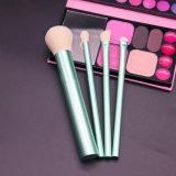 4 Pieces Nylon Hair Cruelty-Free Powder Blush Eye Shadow Beauty Equipment Cosmetics Makeup Brush Set