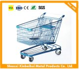 Size Can Choose Chrome Supermarket Shopping Cart Trolley
