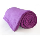 High Quality Microfiber Fleece Travel Blanket for Sale