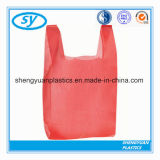 HDPE & LDPE T- Shirt Plastic Shopping Bag for Supermarket