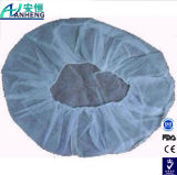 "Polypropylene Pleated Bouffant Cap, Disposable, 19"" Diameter"