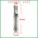 Dual Coil Ceramic Glass Cartridge Cbd Oil Atomizer