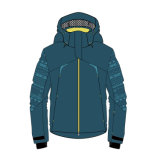 Fashion Ski Hooded Windbreaker Jacket Waterproof
