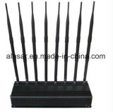 8CH Indoor Power Adjustable Mobile GSM, 3G, 4G WiFi Jammer