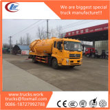 8000L Vacuum Sewage Suction Tank Truck for Sale