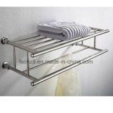 Wall Mounted Stainless Steel Bathroom Towel Rack with Rod (803)