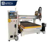 4 Axis Engraving/Cutting/Drilling/Milling Wood Acrylic MDF 1325 Atc Italy Spindle Woodworking CNC Engraving Router Machine Price with Rotary