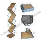 Z Shape Plywood Brochure Stand A4 Magazine Rack (PM-04-1)