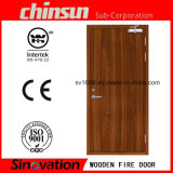 Wooden Fire Door with BS Certificate