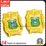 China Manufacturer Gold Enamel Zinc Alloy Metal Lapel Pin