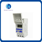 China Suppliers 16A/250VAC DIN Rail LED Programmable Digital Timer Switch