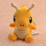 Plush Toy Dragonite Stuffed Animal Doll for Kids