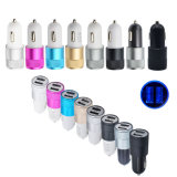 Dual USB Metal Tablet Mobile Phone Car USB Charger