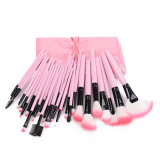 32 Pieces Premium Synthetic Makeup Brush Set Including Face Eye Shadow Eyeliner Foundation Blush Lip Powder Liquid Cream Blending Brush