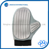 Pet Grooming Gloves - Best Cat and Dog Grooming Brush Makes Grooming Easier - for Short and Long Hair Pet Hair Removal