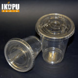 24ozplastic Clear Cups with Flat Lids