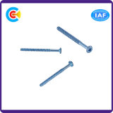 Stainless Cross Recessed Flat Tail Tapping Screw for Building