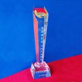Free Logo Customized Acrylic Trophy Crystal Awards