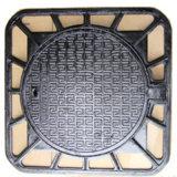 En124 D400 Heavy Duty Ductile Iron Manhole Cover