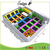 high Jump Super Trampoline Park with Wholesale Ball Pit for Children