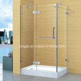 Simple Bathroom 304 Stainless Steel Shower Cabin (A-893)
